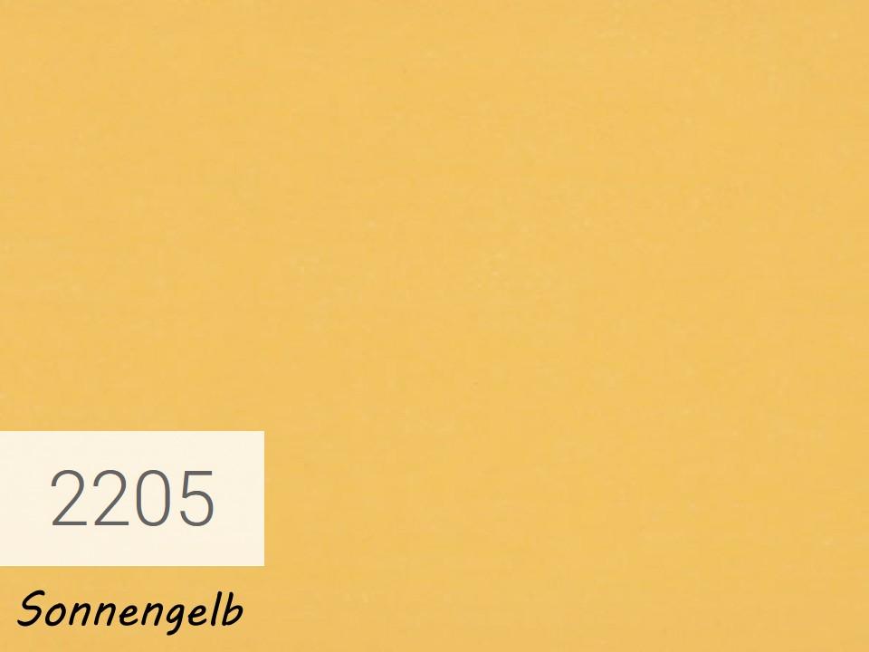 <p>OSMO Landhausfarbe</p>  <p>Sonnengelb, Nr. 2205, 2,5 l</p>