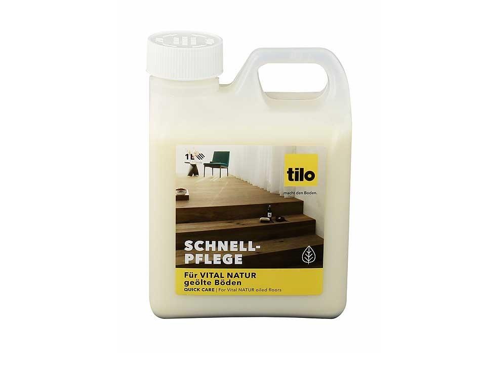 <p>Tilo Schnell-Pflege 1 L</p>  <p>für natur geölte Böden</p>