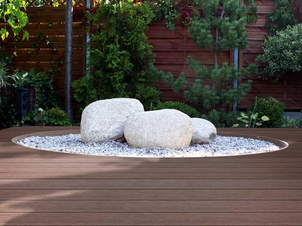 <p>WPC Terrassendiele</p>  <p>Prime-Living S-Line</p>  <p>Farbton: Palisander, 22x140mm</p>