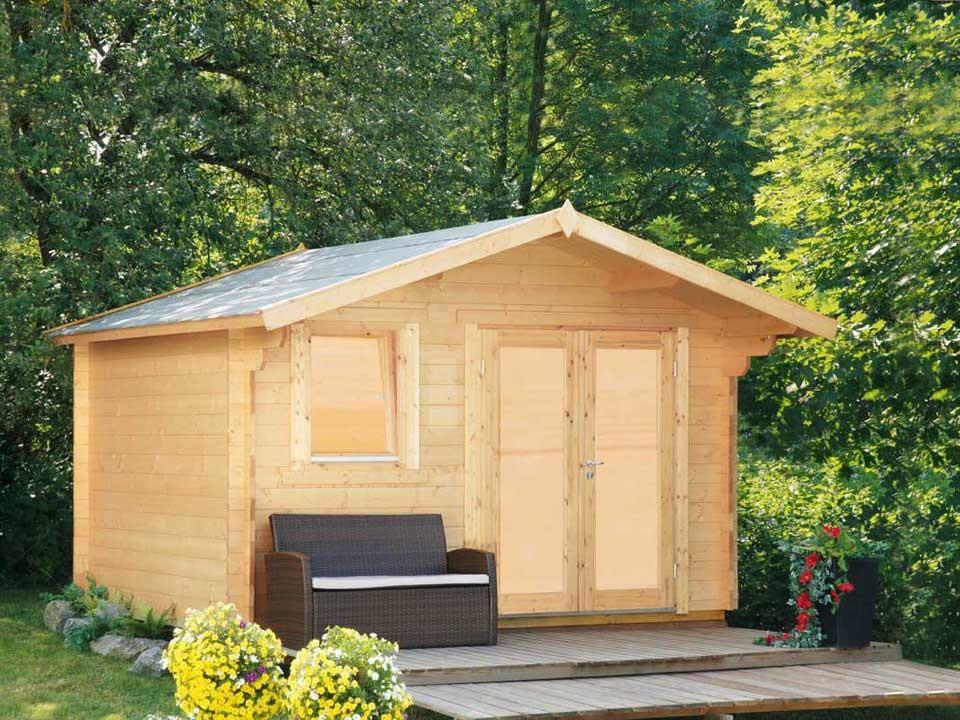 <p>Gartenhaus Orla&nbsp;3630&nbsp;Modern</p>  <p>360 x 300 cm, 34 mm</p>