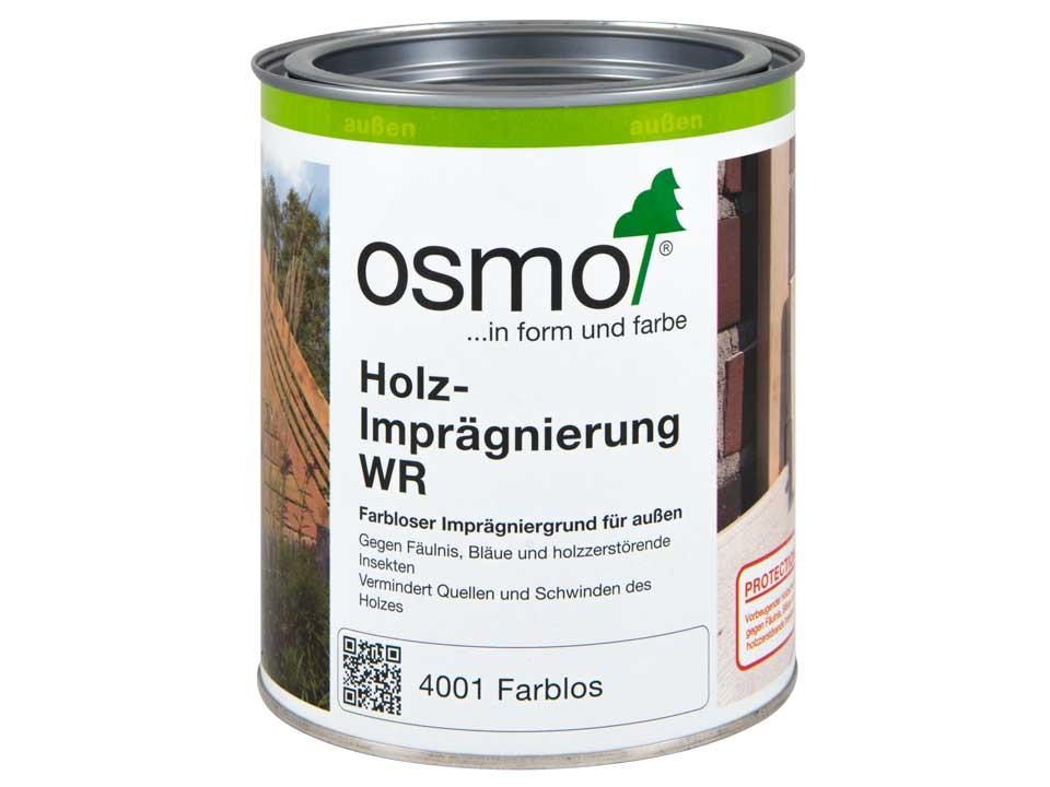 <p>Osmo WR-Imprägnierung</p>  <p>farblos, 0,75 Liter</p>
