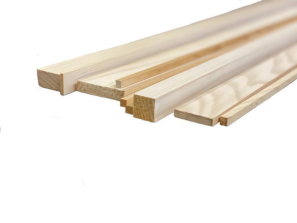 <p>Quadratleisten Fichte</p>  <p>30x30 mm, 250 cm</p>