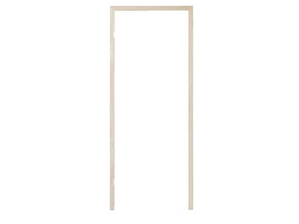 <p>Türrahmen Espe</p>  <p>84 x 197 cm, für Sauna-Glastüren</p>