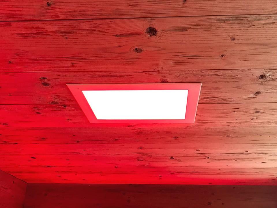 <p>LED-Farblichtgerät FL2000 F</p>  <p>mit Fernbedienung</p>