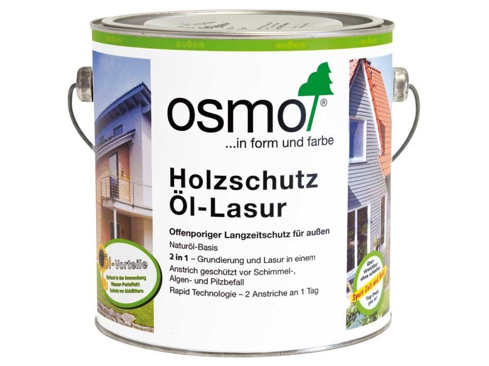 <p>Osmo Holzschutz-Öl-Lasur</p>  <p>alle Farben &amp; Größen</p>