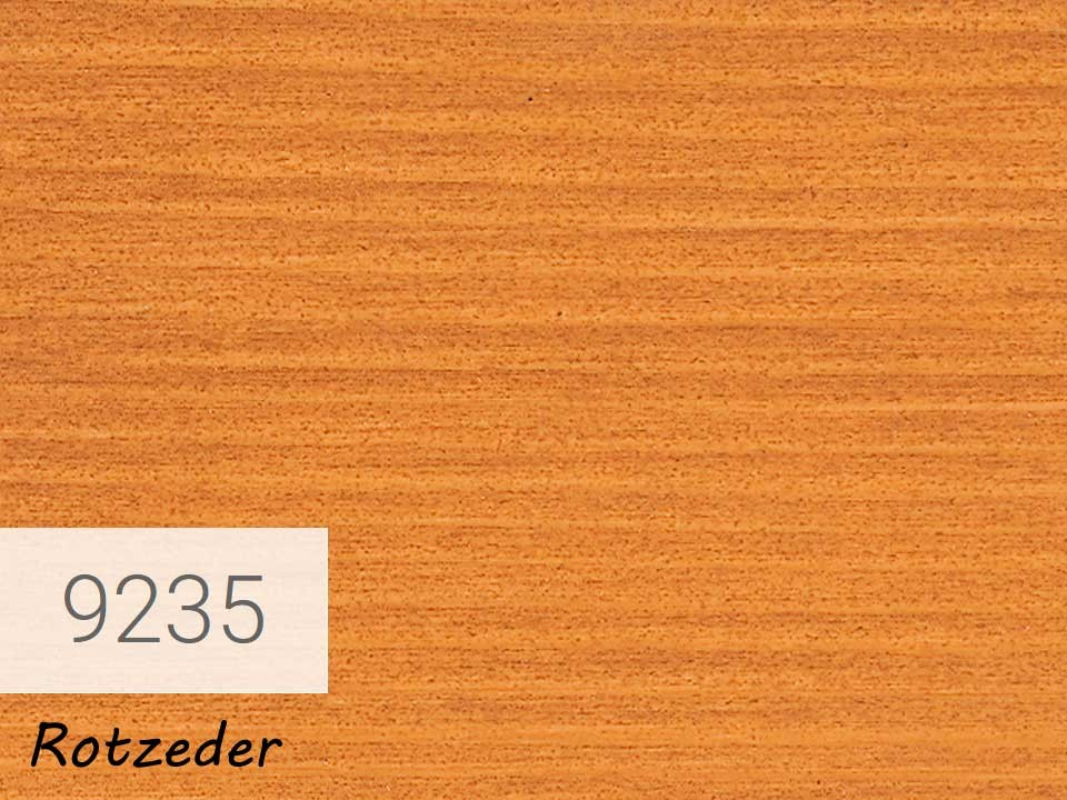 <p>OSMO Einmal-Lasur</p>  <p>Rotzeder, Nr. 9235, 0,75&nbsp;l</p>