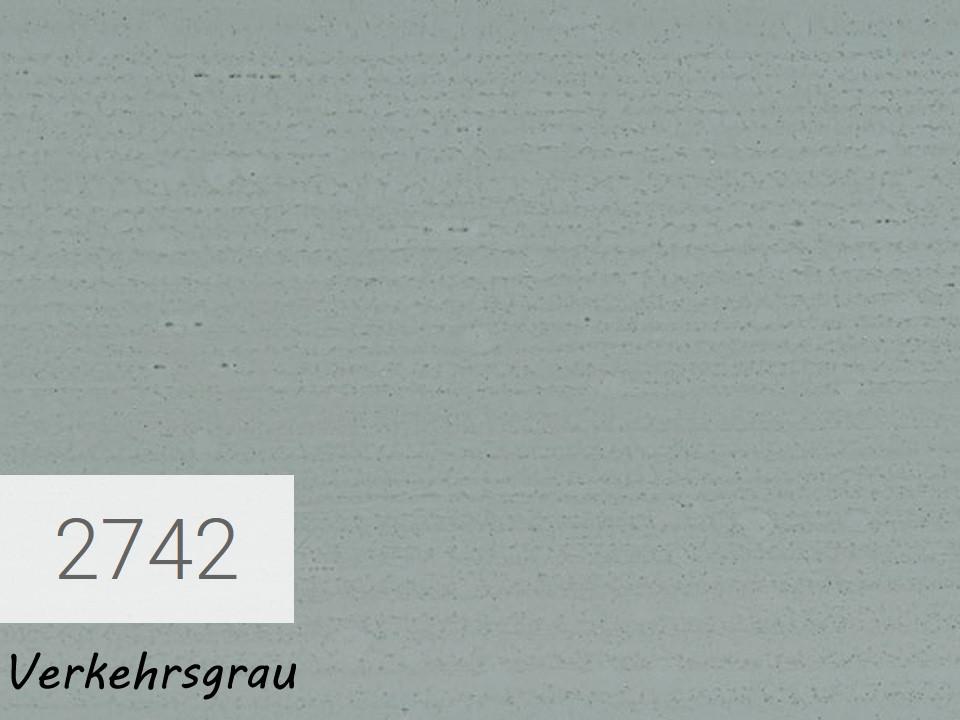 <p>OSMO Landhausfarbe</p>  <p>Verkehrsgrau, Nr. 2742, 2,5&nbsp;l</p>