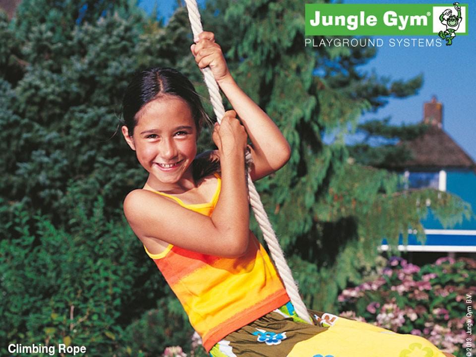 <p>Jungle Gym Kletterseil</p>  <p>200 cm, ohne Haken</p>