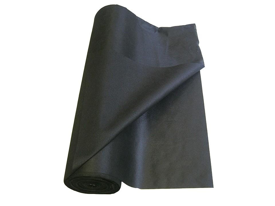 <p>Unkraut-Vlies Unterlage</p>  <p>1,6 x 5 m, schwarz</p>