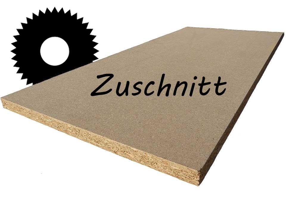 <p>Rohspanplatte 19 mm</p>  <p>Zuschnitt</p>