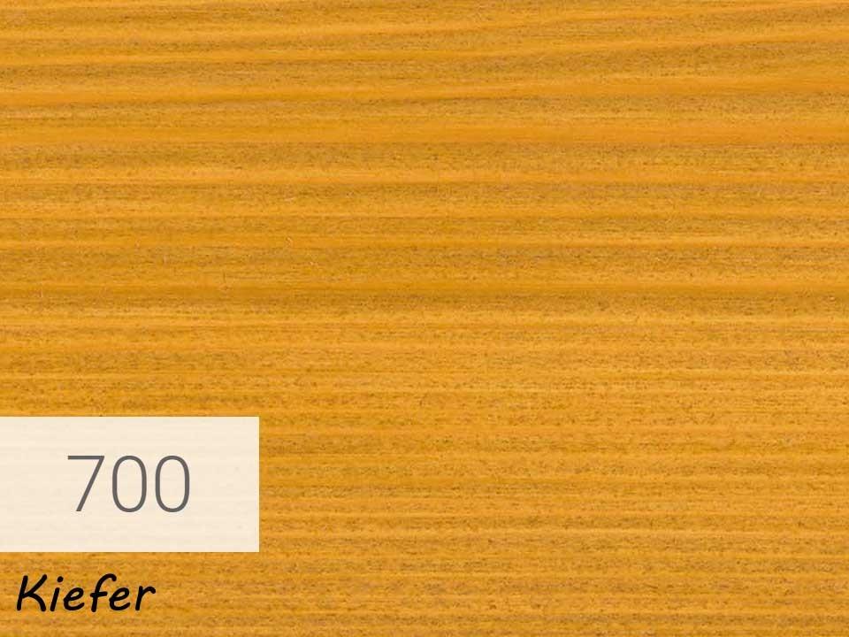<p>Holzschutz-Öl-Lasur</p>  <p>700 Kiefer á 2,5 Liter</p>