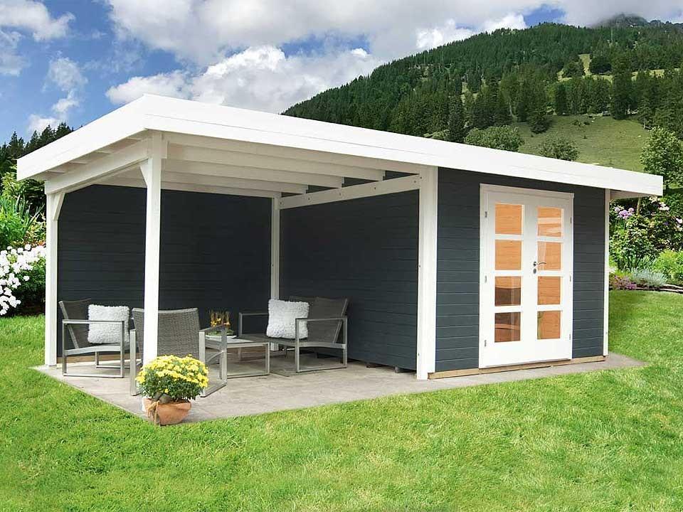 Gartenhaus Relax B Lounge 590 x 241 cm