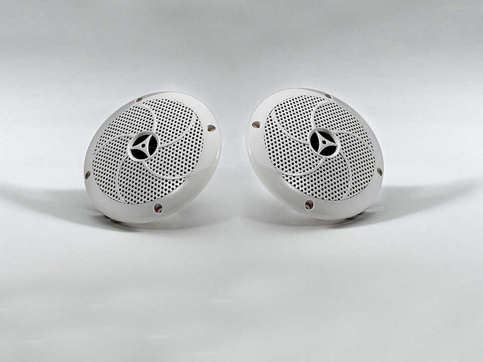 <p>Lautsprecherpaar</p>  <p>geeignet für Sauna und Infrarotkabinen</p>