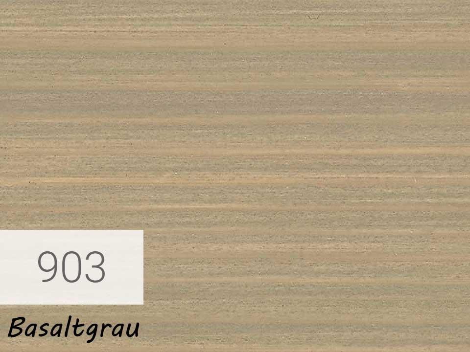 <p>Holzschutz-Öl-Lasur</p>  <p>903 Basaltgrau á 2,5 Liter</p>