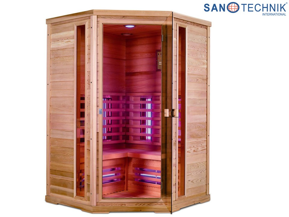 <p>Infrarotkabine&nbsp; 130 x 130 cm</p>  <p>Sanotechnik Apollo</p>