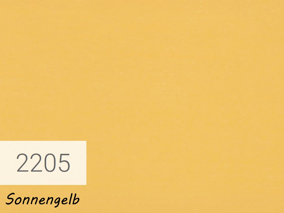 <p>OSMO Landhausfarbe</p>  <p>Sonnengelb, Nr. 2205, 0,75 l</p>