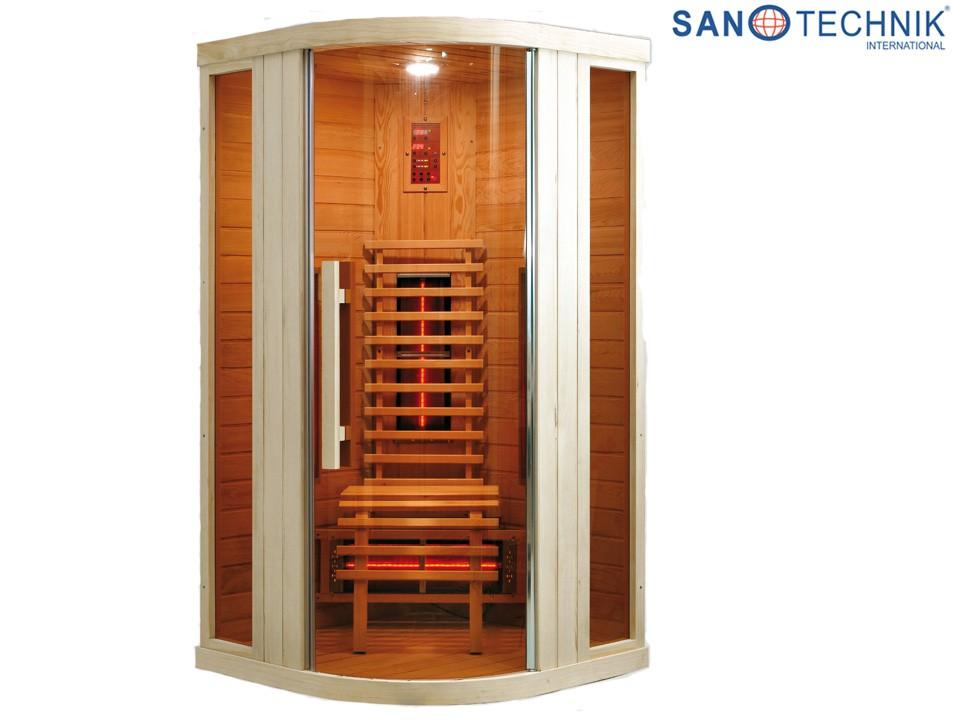 <p>Infrarotkabine&nbsp; 100 x 100 cm</p>  <p>Sanotechnik Relax 1</p>