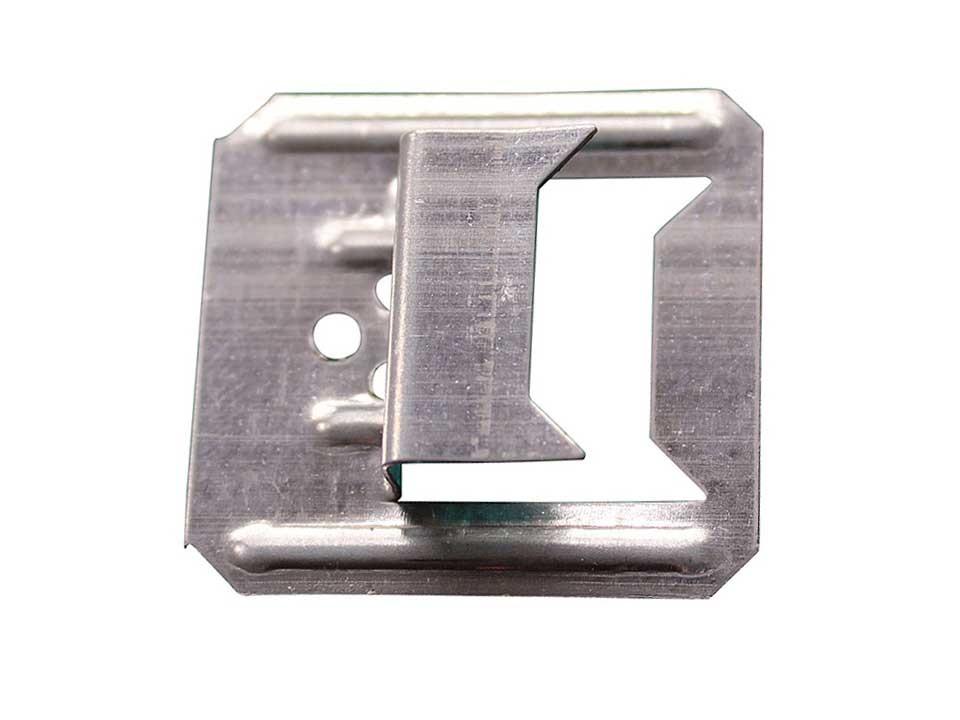 <p>Befestigungskrallen 4 mm</p>  <p>stabil, verzinkt, 100 Stück</p>