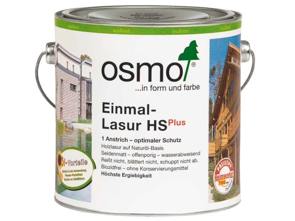 <p>Osmo Einmal-Lasur HS+</p>  <p>alle Farben &amp; Größen</p>