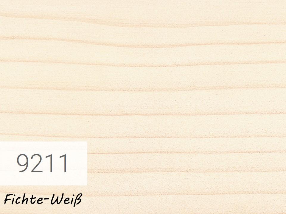 <p>OSMO Einmal-Lasur</p>  <p>Fichte-Weiß, Nr. 9211, 2,5 l</p>