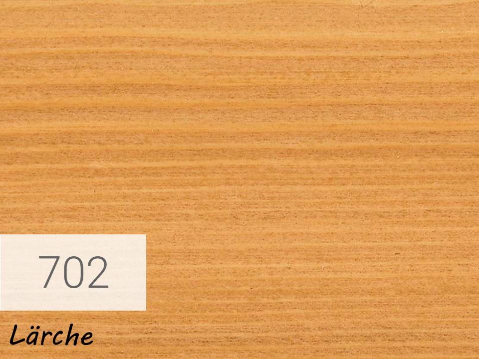 <p>Holzschutz-Öl-Lasur</p>  <p>702 Lärche á 2,5 Liter</p>