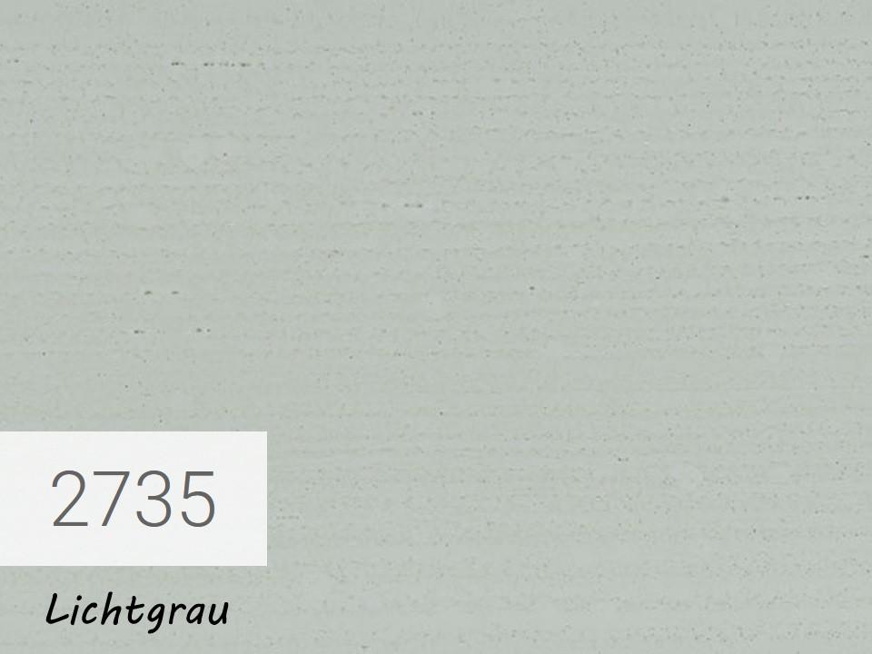 <p>OSMO Landhausfarbe</p>  <p>Lichtgrau, Nr. 2735, 2,5 l</p>