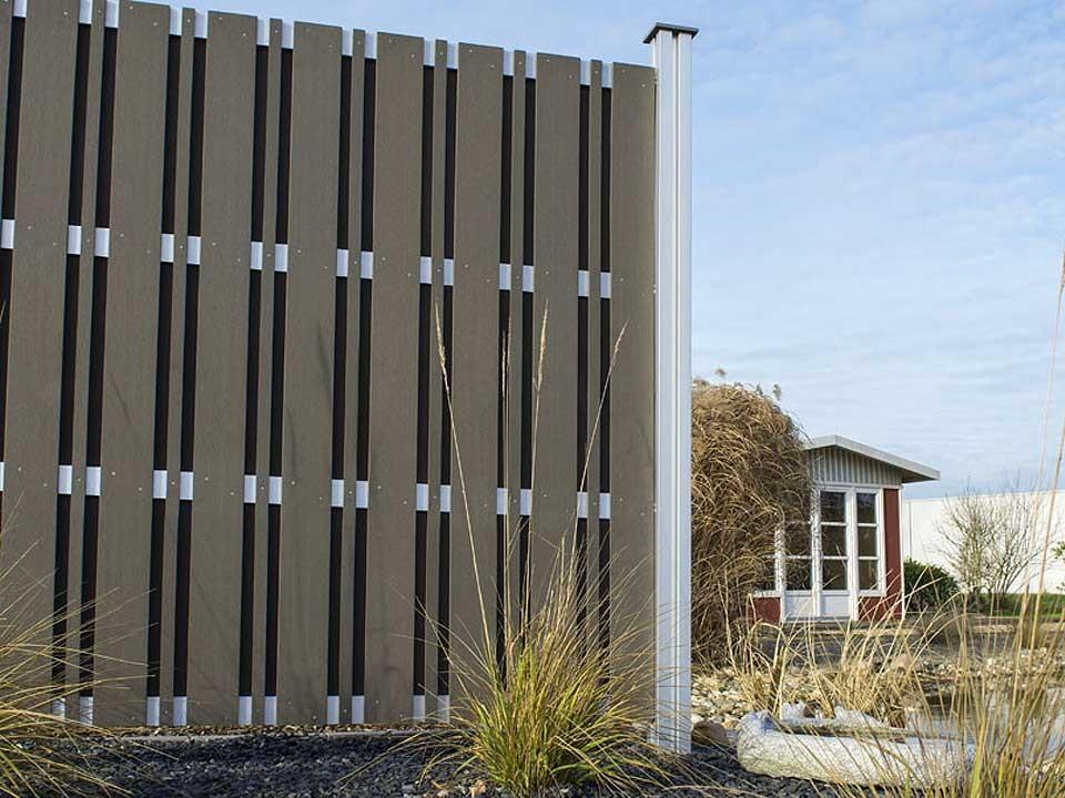 Sichtschutz Multi-Fence Struktur 180x180 cm