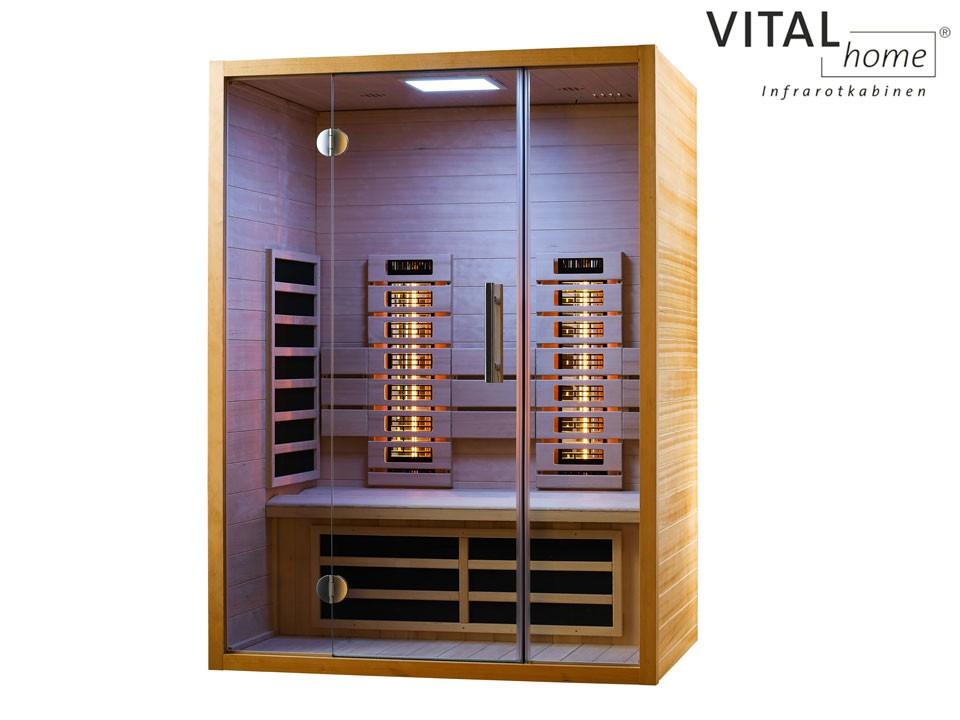 <p>Infrarotkabine&nbsp; 140 x 105 cm</p>  <p>VITAL Home Sunlight 140</p>