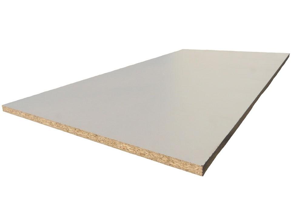 <p>Dekorspanplatte 16 mm</p>  <p>weiß, 280 x 207 cm</p>