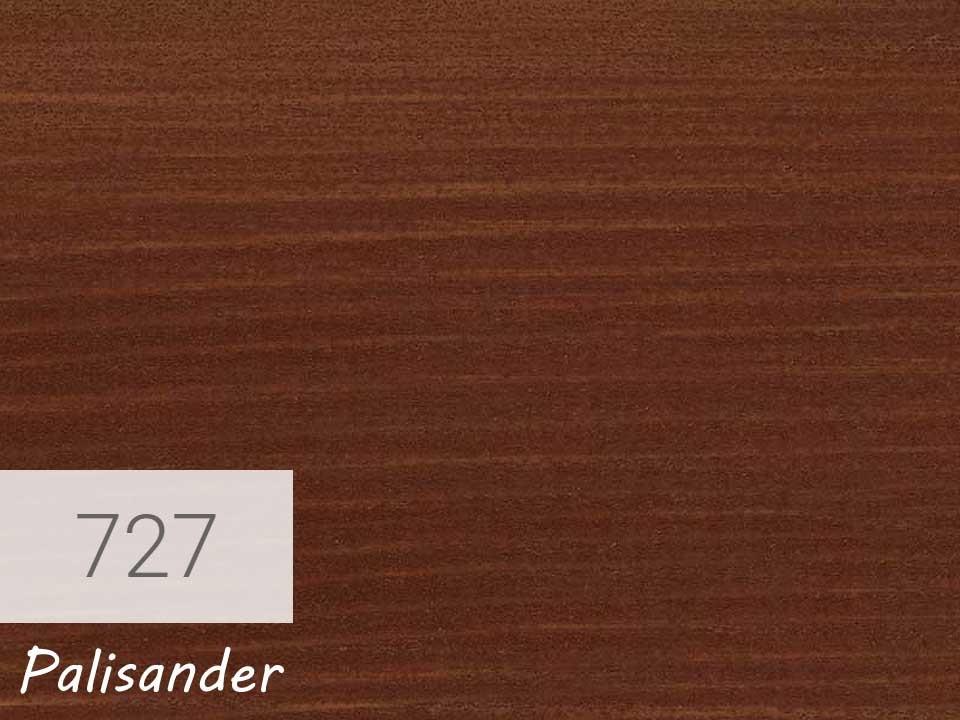 <p>Holzschutz-Öl-Lasur</p>  <p>727 Palisander á 0,75 Liter</p>