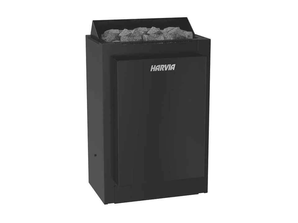 <p>Saunaofen Combinator</p>  <p>Harvia, schwarz, 8 kW</p>
