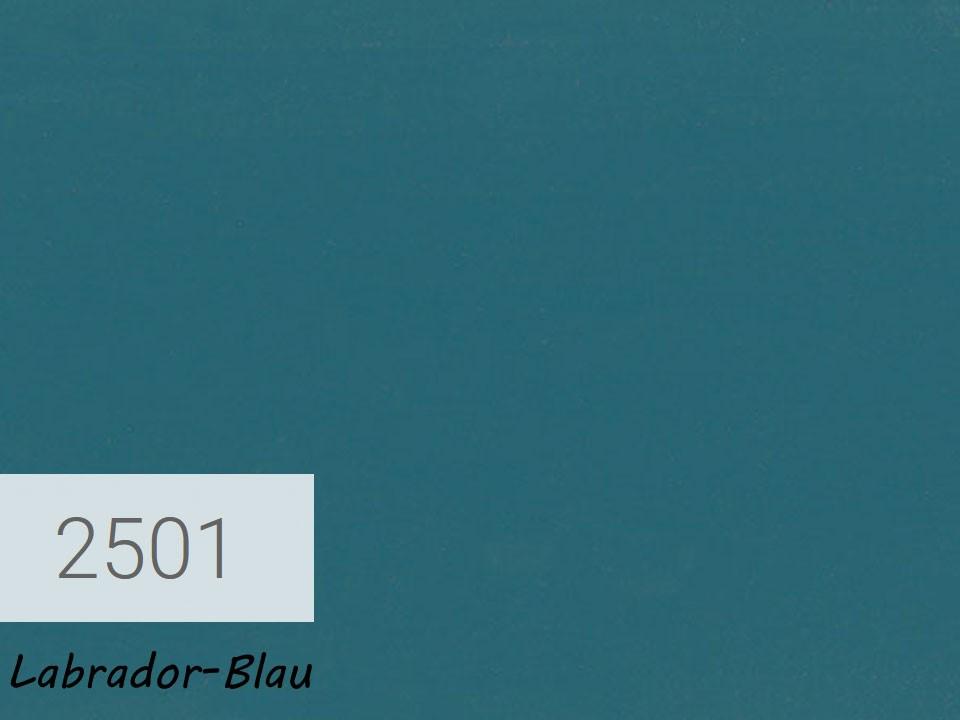 <p>OSMO Landhausfarbe</p>  <p>Labrador-Blau, Nr. 2501, 0,75 l</p>