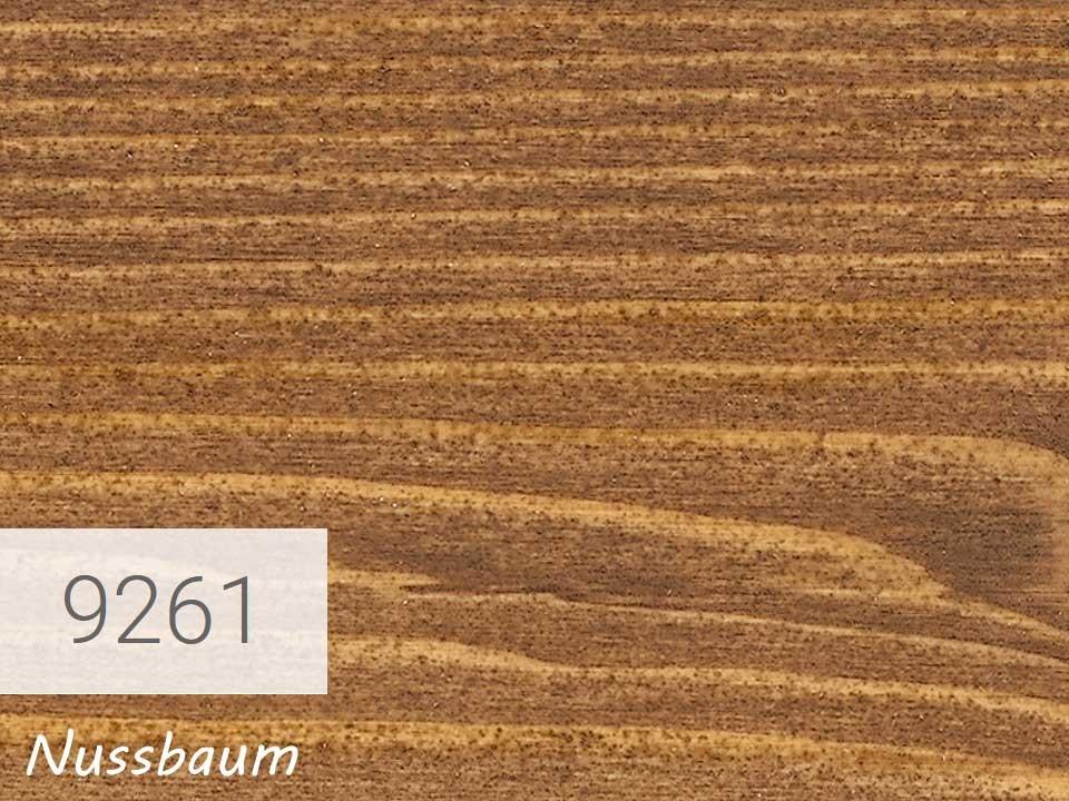 <p>OSMO Einmal-Lasur</p>  <p>Nussbaum, Nr. 9261, 2,5&nbsp;l</p>