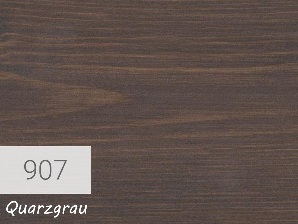 <p>Holzschutz-Öl-Lasur</p>  <p>907 Quarzgrau á 0,75 Liter</p>