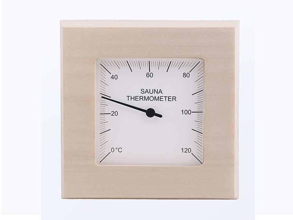 <p>Thermometer quadratisch</p>  <p>aus Espenholz</p>
