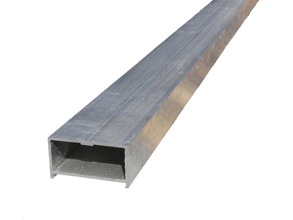 <p>Unterkonstruktion Alu</p>  <p>35 x 64,5 mm, 4m, blank</p>